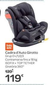 Oferta de Silla de Auto Girotto por 119€