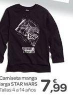 Oferta de Camiseta manga larga STAR WARS  por 7.99€