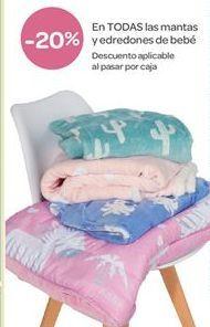 Oferta de En TODAS las mantas y edredones de bebé por