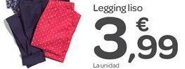 Oferta de Legging liso por 3.99€