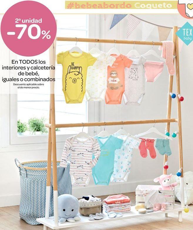 Oferta de En TODOS los interiores y calcetería de bebé, iguales o combinados  por