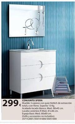 Oferta de Muebles de baño por 299€