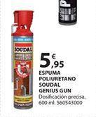 Oferta de Espuma de poliuretano por 5.95€