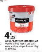 Oferta de Masilla Aguaplast por 4.25€