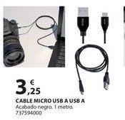 Oferta de Cables por 3.25€