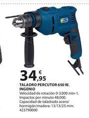 Oferta de Taladro percutor por 34.95€