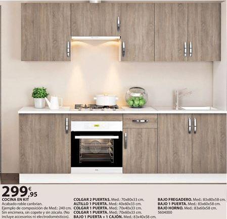 Oferta de Cocinas por 299.95€
