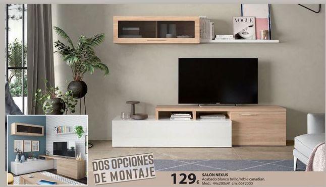 Oferta de Mueble tv por 129€