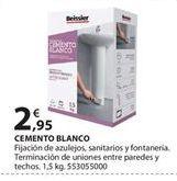 Oferta de Cemento blanco Beissier por 2.95€