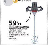 Oferta de Mezcladora eléctrica Power plus por 59.95€