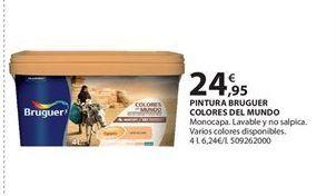 Oferta de Pintura Bruguer por 24.95€