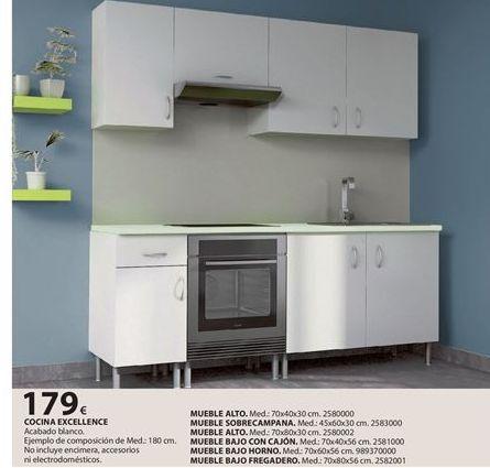 Oferta de Cocinas por 179€