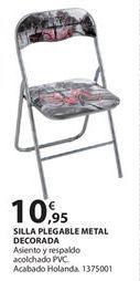 Oferta de Silla plegable por 10.95€