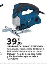 Oferta de Sierra de calar por 39.95€