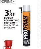 Oferta de Espuma de poliuretano por 3.95€