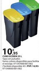 Oferta de Cubo de basura ecológico por 10.95€