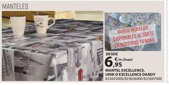 Oferta de Mantel por 6.95€