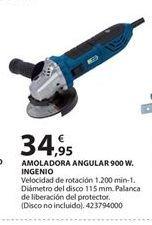 Oferta de Amoladora angular por 34.95€