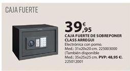 Oferta de Caja fuerte por 39.95€