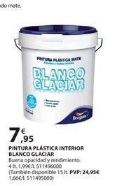 Oferta de Pintura plástica interior Bruguer por 7.95€