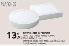 Oferta de Downlight por 13.95€