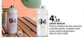 Oferta de Pintura sintética en spray por 4.25€