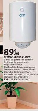 Oferta de Termo eléctrico por 89.95€