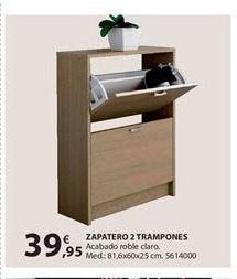 Oferta de Zapatero por 39.95€