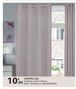 Oferta de Cortinas por 10.95€