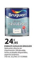 Oferta de Esmalte para azulejos Bruguer por 24.95€