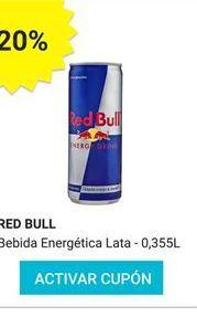 Oferta de Bebida deportiva Red Bull por