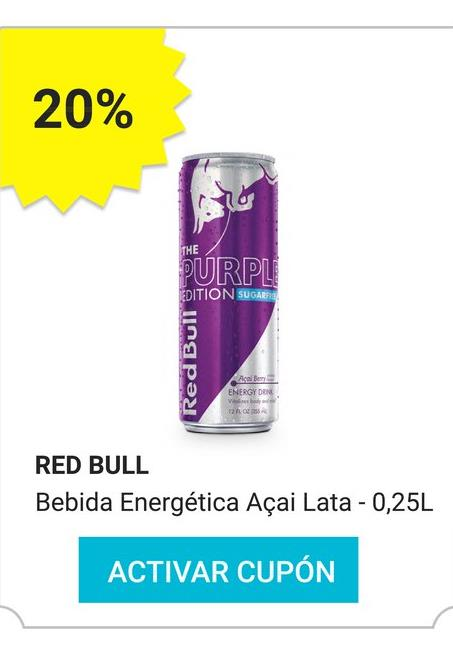 Oferta de Abanico Red Bull por