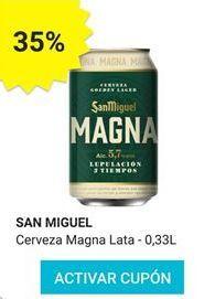 Oferta de Cerveza San Miguel por