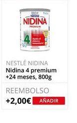 Oferta de Leche infantil Nestlé por