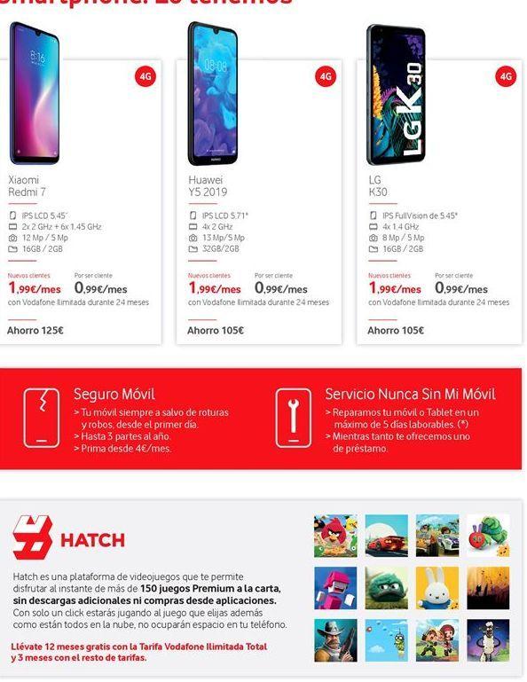 Oferta de Smartphones por