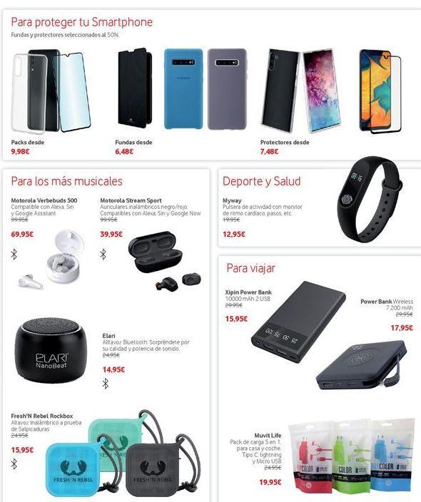 Oferta de Accesorios para móvil por