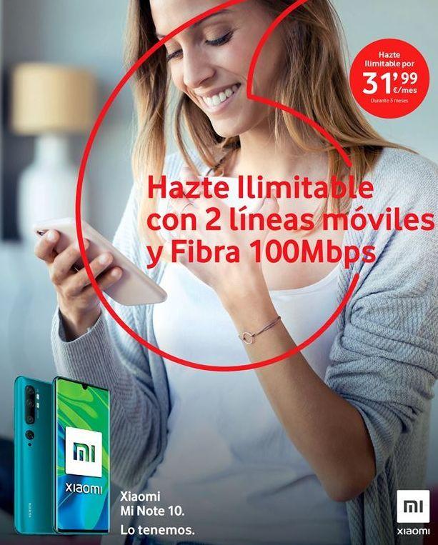 Oferta de Tarifas Vodafone por 31.99鈧�