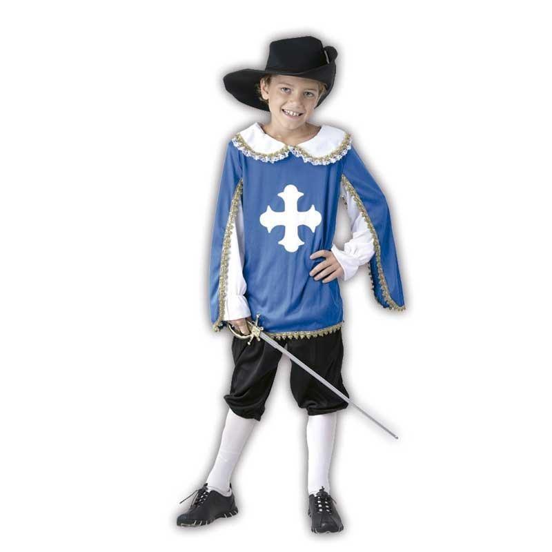 Oferta de S Mosquetero niño disfraz por 7.5€