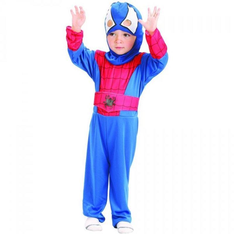 Oferta de Disfraz Spiderman Infantil XXS por 5€
