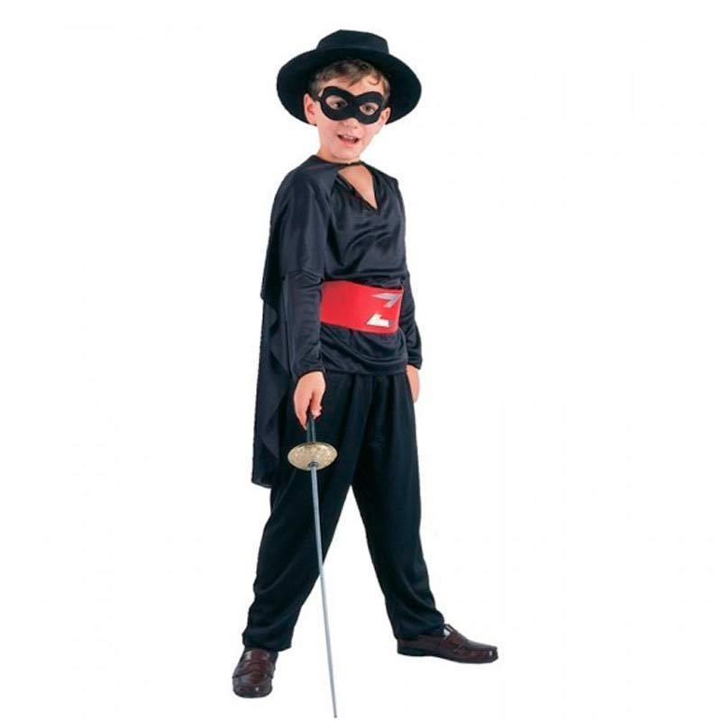 Oferta de Disfraz de El Zorro para niño M por 9€