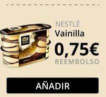 Oferta de Mousse de nata Nestlé por