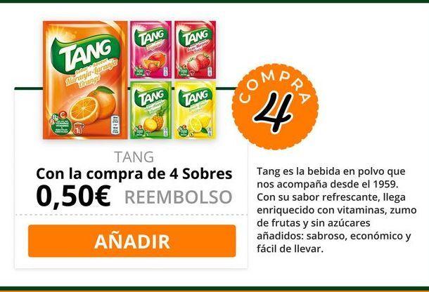 Oferta de Bebida de frutas Tang por