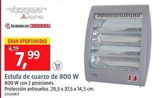 Oferta de Estufa de cuarzo móvil por 7.99€