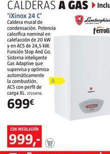 Oferta de Caldera Ferroli por 699€
