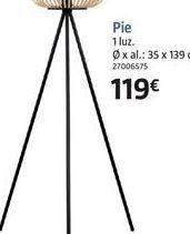Oferta de Lámpara de pie por 119€