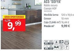 Oferta de Suelos laminados por 9.99€