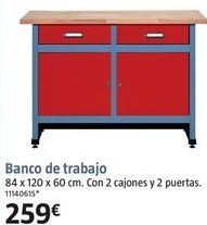 Oferta de Banco de trabajo por 259€