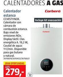 Oferta de Calentador Corberó por 279€