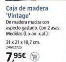 Oferta de Cajas por 7.95€