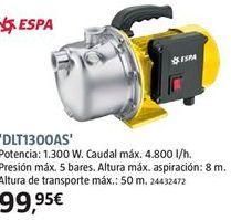 Oferta de Bomba de agua por 99.95€